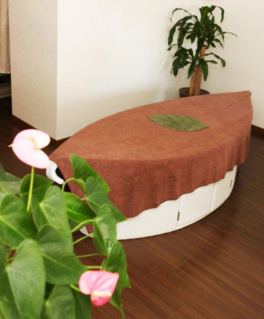 ハーブスチームベッド